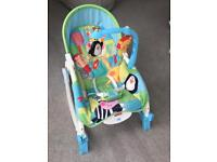 Fisher Price infant to toddler rocker/bouncer