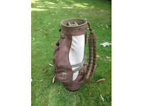 ladies graphite golden bear golf clubs and taylor made bag