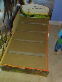 Gruffalo toddler bed cot bed size with 2 free gruffalo underbed storage drawers