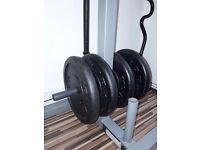 65kg YORK CAST IRON WEIGHT PLATES