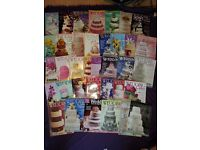 Large selection of Wedding cake design magazines
