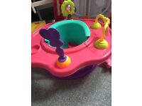 Baby girl activity seat