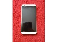 DUAL SIM WHITE HTC 820G+ MOBILE PHONE AS NEW CONDITION