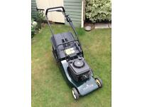 Hayter 48 lawnmower. Nice lawn mower with electric starter.
