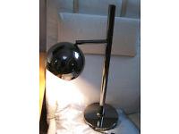 Lamp Chrome Desk Table
