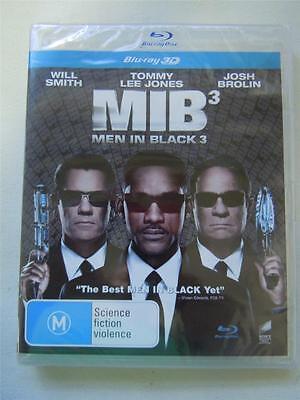 Blu-Ray Movie - MIB Men In Back 3