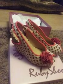 Ladies Ruby Shoo shoes size 5