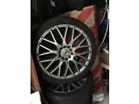 Alloy wheels 70 paund 07432735527