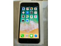 iPhone 6 Plus, Space Grey, Unlocked To All Networks And With 4 Cases