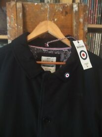 """Lambretta coat """"Carnaby Clothing London"""" - large - Paisley Interior - Brand new with tags"""