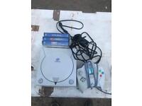 Sega dreamcast And 3 games