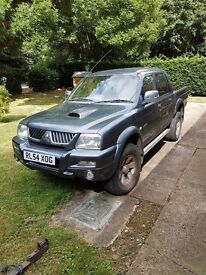 L200 warrior. 54 plate. Low mileage. Reluctant sale due to not enough use of it.