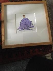 Limited Edition Prints by John Banbury mounted and framed