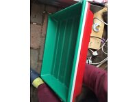 pizza ball trays italian flag colours medium