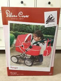 New, boxed and unopened, Children's Silver Cross Pram for sale