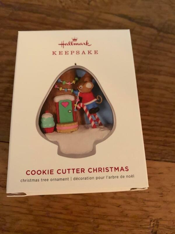 Hallmark Keepsake Ornament 2019 Cookie Cutter Christmas Mouse 8th in Series #8