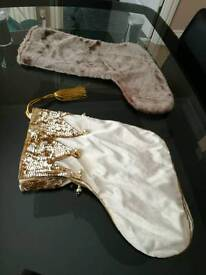 Christmas stockings x 2
