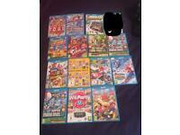 Wii U console & Games.
