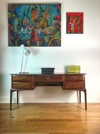 Mid-Century Mahogany Desk by Stag FREE LOCAL DELIVERY