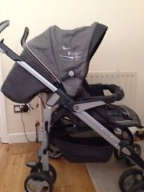 Silver Cross 3D Pram and Pushchair - used just a few months in excellent condition - £ 90