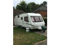 Abbey Cardinal 340 6 Berth Caravan