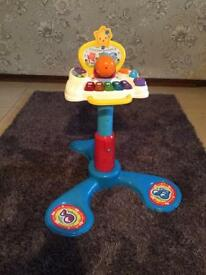 V tech sit to stand music tower -