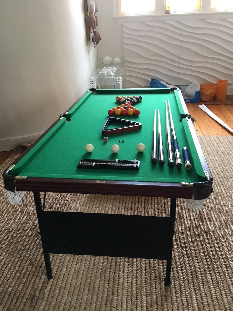 Jacques Pool Table Ft By Ft With All Sorts Of Extra Items All - Pool table description