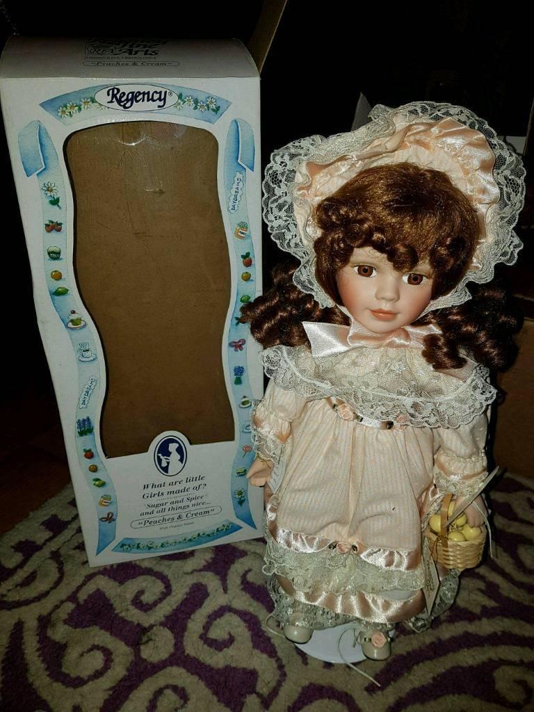 Regency Porcelain Doll
