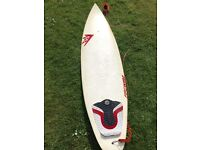 "6' 2"" Firewire Shortboard with NEW Shaper Fins"