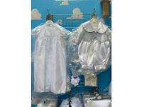 Christening items gowns rompers