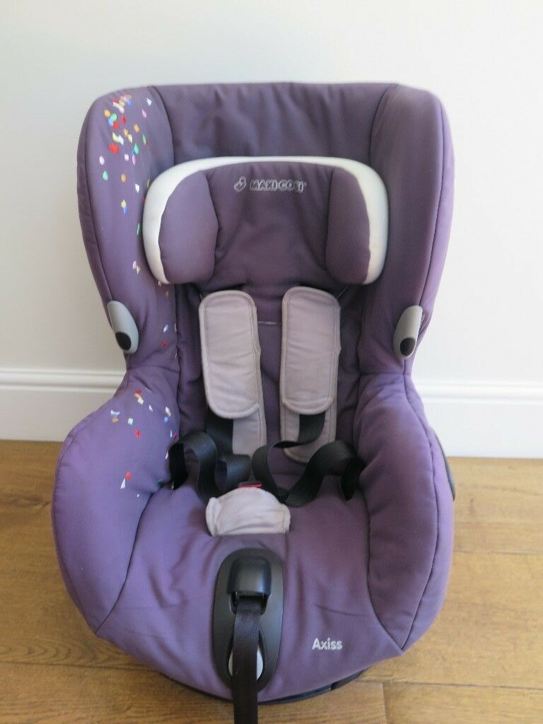 Maxi Cosi Axiss Forward Facing Swivel Car Seat Confetti 9m 4yrs