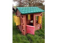 playhouse LOG CABIN