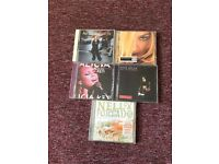 5 cd's legend pop-ladies: madonna ,avril,keys,melua,fortado