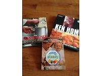 Collection of cookery books