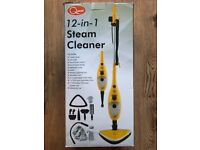 Quest 12-in-1 steam cleaner