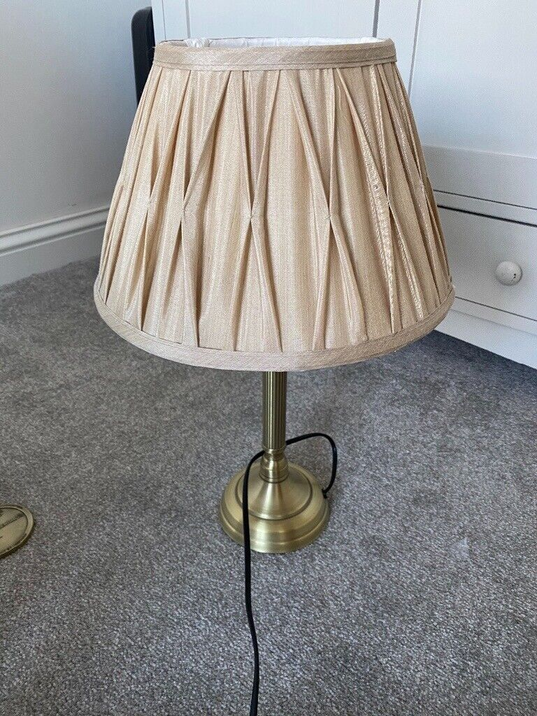 Gold Table Lamp In Yateley Hampshire Gumtree