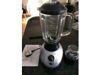 Glass blender and coffee grinder
