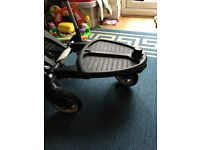 Wheeled buggy board bugaboo