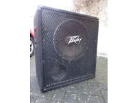 "Peavey 15"" bass cab for sale"