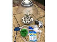 biOrb 30l with light, pump and many accessories