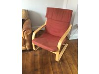 Ikea easy chair for sale