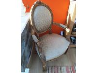 Decorative Chair Shabby Chic Style