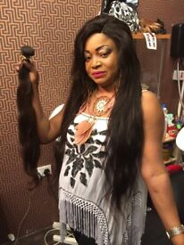 Hairdresser based in Glasgow city centre. Specialised in Weaves,braids , cornrows, Wigs and more