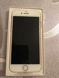 Iphone 7 rose gold 32gb unlocked!