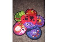 Lamaze spin and explore mat/toy