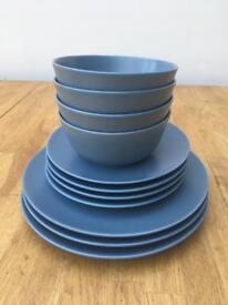 Ikea Dinera Plates and bowls dinnerware