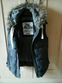 Women's Superdry small gilet