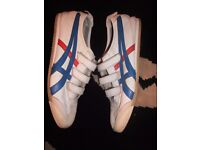 asics tiger onitsuka velcro leathers trainers