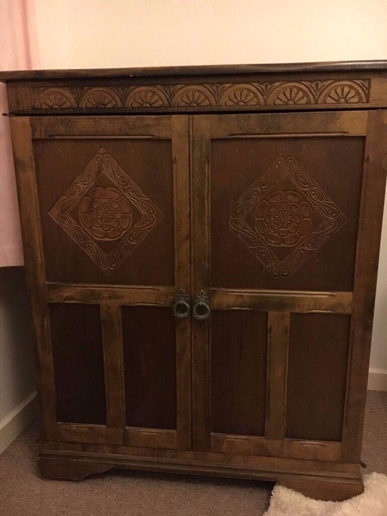 Vintage Edwardian Style Cabinet In Nailsea Bristol Gumtree