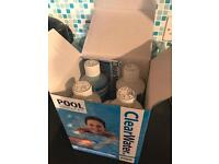 Clearwater pool chemicals starter kit